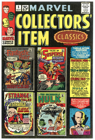 Marvel Collectors' Item Classics #5 VF-