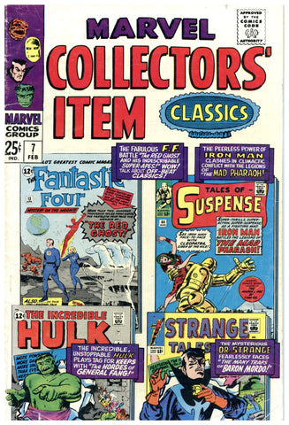 Marvel Collectors' Item Classics #7 VG