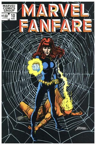 Marvel Fanfare #10 NM