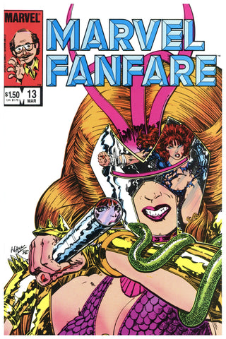 Marvel Fanfare #13 NM/MT