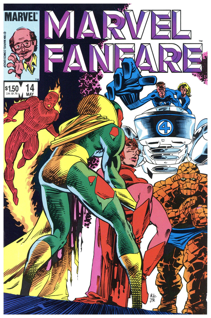 Marvel Fanfare #14 NM+