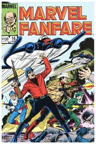 Marvel Fanfare #16 NM/MT