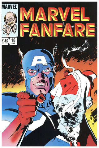Marvel Fanfare #18 NM+