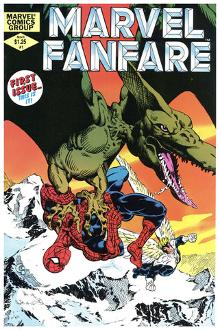 Marvel Fanfare #1 NM+