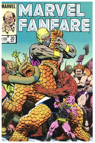 Marvel Fanfare #20 NM+