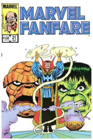 Marvel Fanfare #21 VF/NM