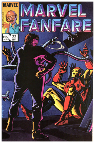 Marvel Fanfare #22 NM