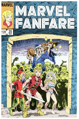Marvel Fanfare #25 NM+