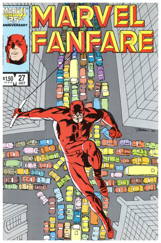 Marvel Fanfare #27 NM+