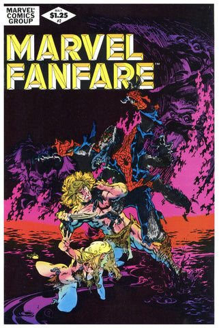 Marvel Fanfare #2 NM