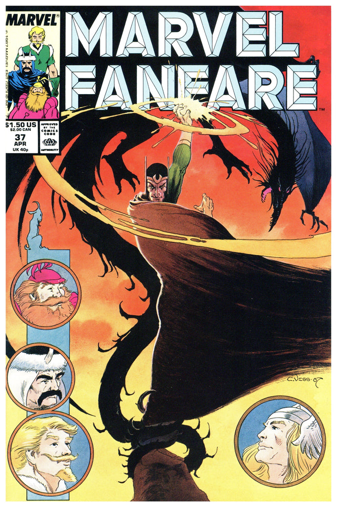 Marvel Fanfare #37 NM+
