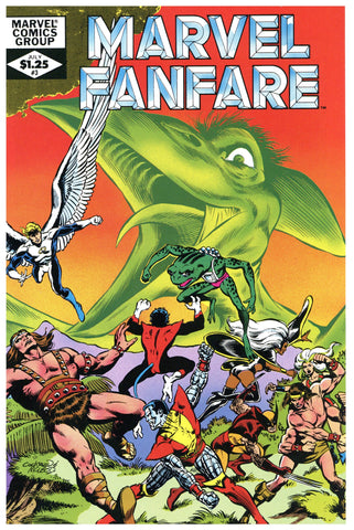 Marvel Fanfare #3 NM/MT