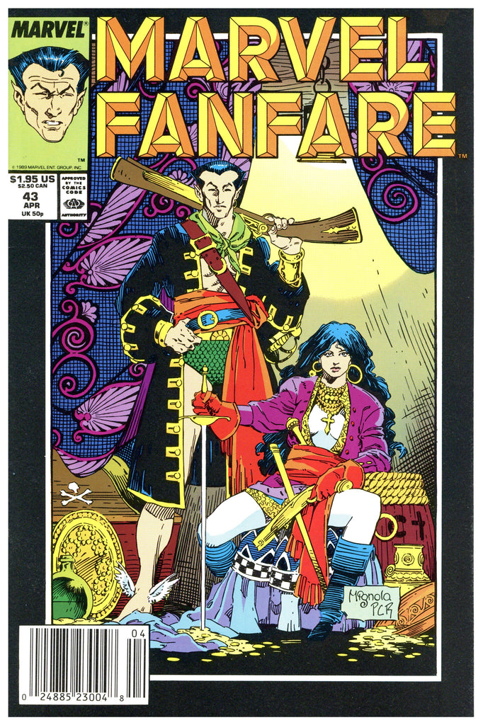 Marvel Fanfare #43 NM/MT