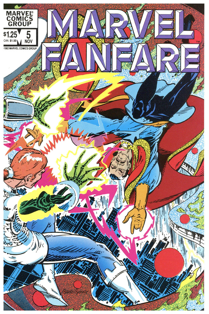 Marvel Fanfare #5 NM/MT
