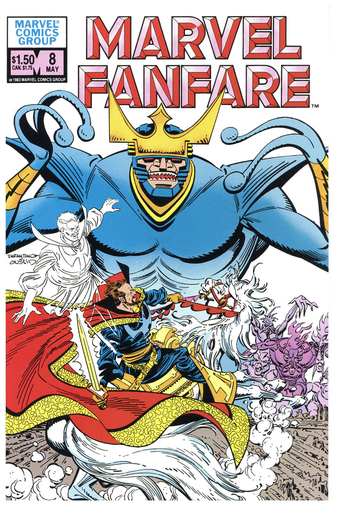 Marvel Fanfare #8 NM/MT