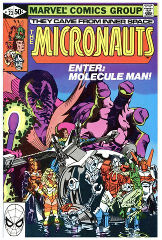 The Micronauts #23 NM+