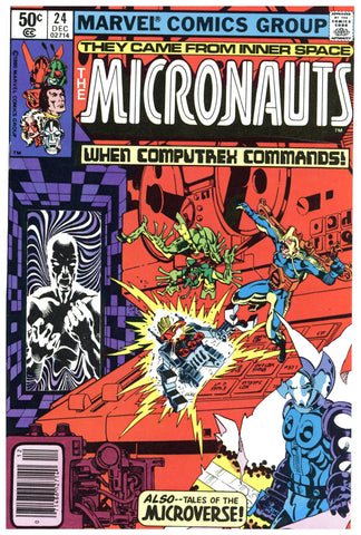 The Micronauts #24 NM+