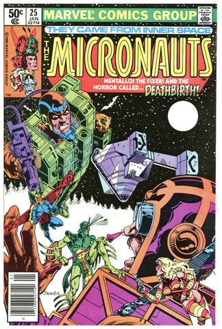 The Micronauts #25 NM+
