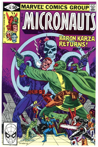The Micronauts #26 NM+