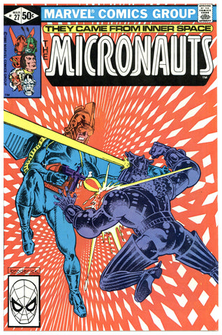 The Micronauts #27 NM