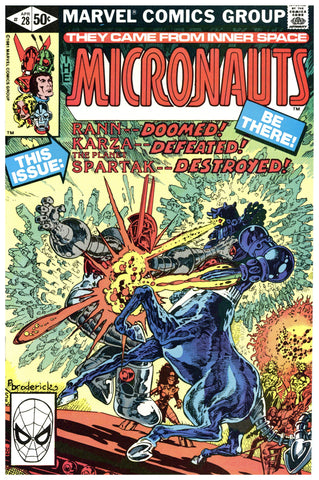 The Micronauts #28 NM+
