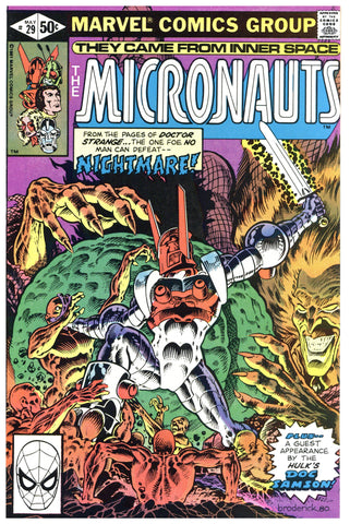 The Micronauts #29 NM+