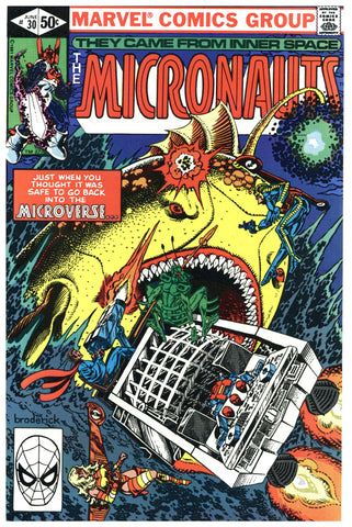 The Micronauts #30 NM+