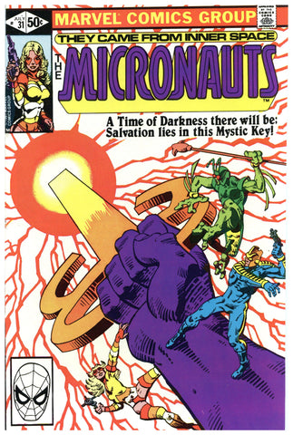 The Micronauts #31 NM+