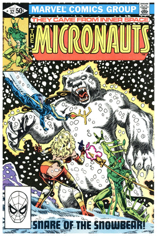 The Micronauts #32 NM+