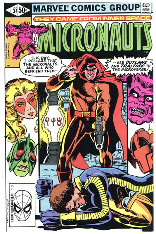 The Micronauts #34 NM+