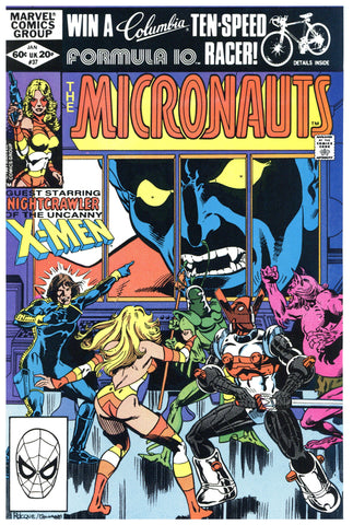 The Micronauts #37 NM+