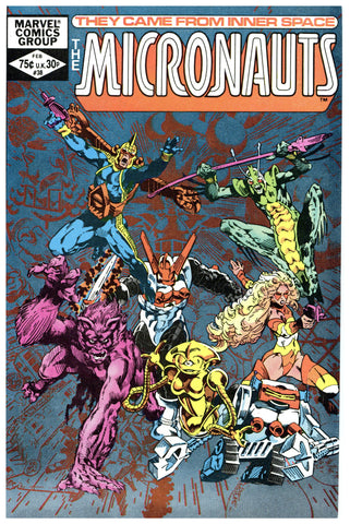 The Micronauts #38 NM+