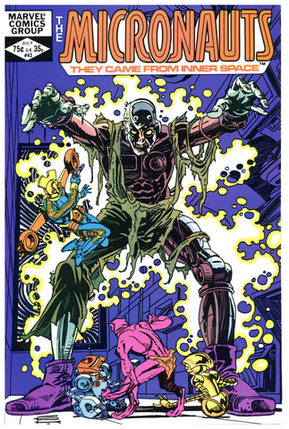 The Micronauts #43 NM