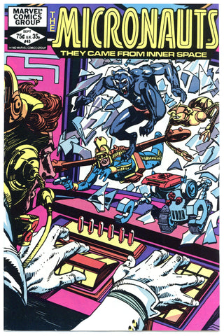The Micronauts #45 NM+