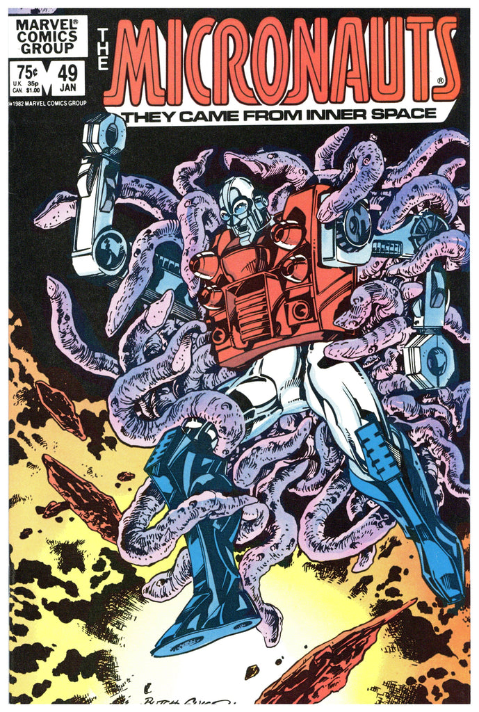 The Micronauts #49 NM+