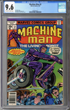 Machine Man #2  CGC 9.6