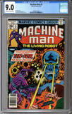 Machine Man #3  CGC 9.0