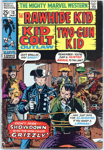 Mighty Marvel Western #13 Fine