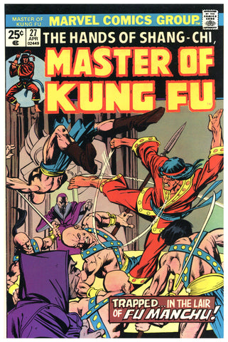 Master of Kung Fu #27 NM
