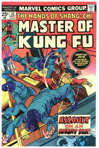 Master of Kung Fu #32 VF/NM