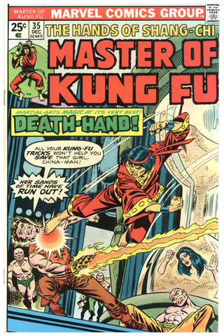Master of Kung Fu #35 NM+