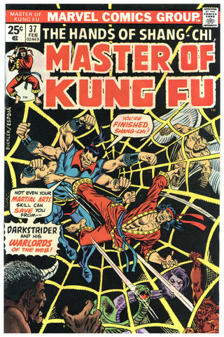 Master of Kung Fu #37 NM