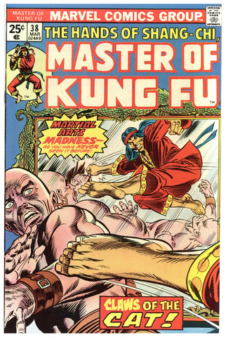 Master of Kung Fu #38 NM-