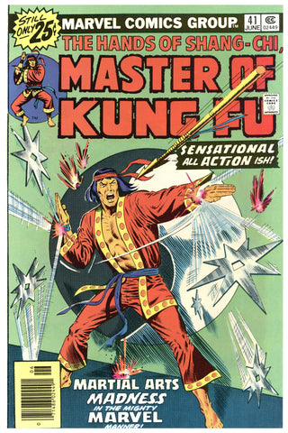 Master of Kung Fu #41 NM