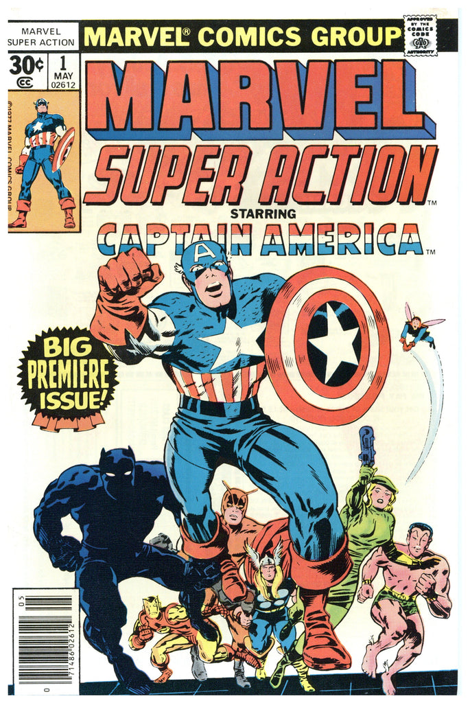Marvel Super Action #1 VF/NM