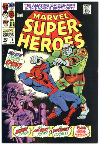 Marvel Super-Heroes #14 VF/NM
