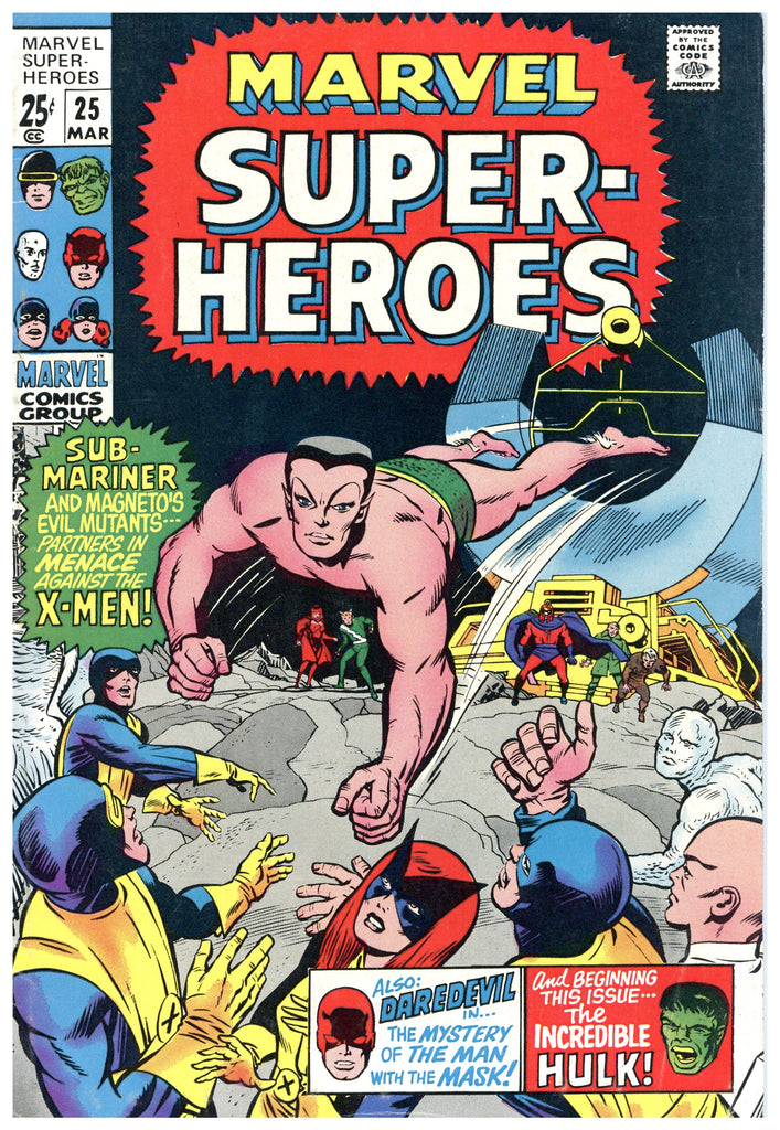 Marvel Super-Heroes #25 VF-
