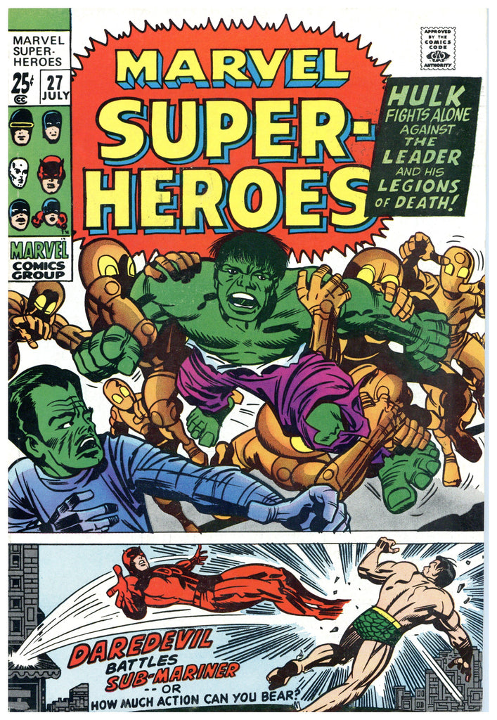 Marvel Super-Heroes #27 VF