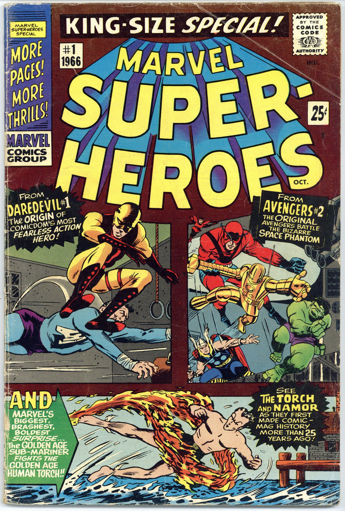 Marvel Super-Heroes #1 VG