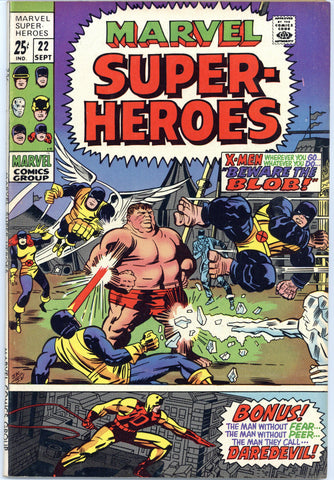 Marvel Super-Heroes #22 VF-